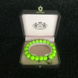 Ret. JUICY COUTURE Cupcake Stretch Neon Bracelet